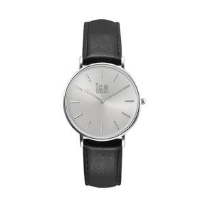 アイスウォッチ 腕時計 ICE-WATCH CITY classic - シティクラシック ブラック シルバー (ミディアム)|beyondcool|02
