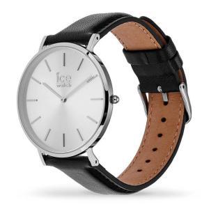 アイスウォッチ 腕時計 ICE-WATCH CITY classic - シティクラシック ブラック シルバー (ミディアム)|beyondcool|03