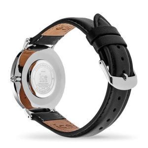 アイスウォッチ 腕時計 ICE-WATCH CITY classic - シティクラシック ブラック シルバー (ミディアム)|beyondcool|05
