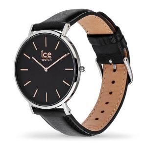 アイスウォッチ 腕時計 ICE-WATCH CITY classic - シティクラシック ブラック ローズゴールド (ミディアム)|beyondcool|03