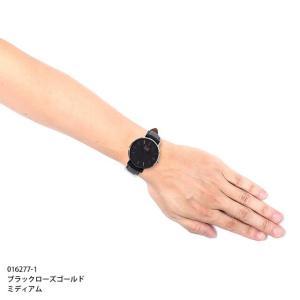 アイスウォッチ 腕時計 ICE-WATCH CITY classic - シティクラシック ブラック ローズゴールド (ミディアム)|beyondcool|06