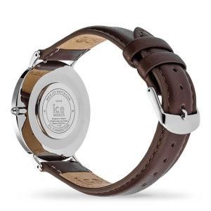 アイスウォッチ 腕時計 ICE-WATCH CITY classic - シティクラシック ブラウン シルバー (ミディアム)|beyondcool|05