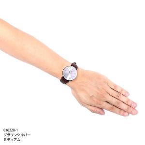 アイスウォッチ 腕時計 ICE-WATCH CITY classic - シティクラシック ブラウン シルバー (ミディアム)|beyondcool|06