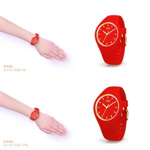 アイスウォッチ 腕時計 ICE-WATCH ICE glam colour -  アイスグラムカラー  レッド 赤|beyondcool|06