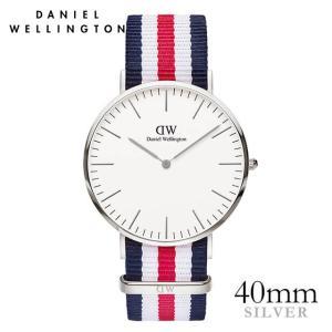 ダニエルウェリントン カンタベリー シルバー 40mm 腕時計 Classic Canterbury|beyondcool