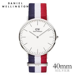 ダニエルウェリントン ケンブリッジ シルバー 40mm 腕時計 Classic Cambridge|beyondcool