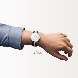 ダニエルウェリントン ケンブリッジ シルバー 40mm 腕時計 Classic Cambridge|beyondcool|06