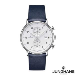 ユンハンス 腕時計 メンズ ウォッチ Junghans FORM C Chronoscope WH/DL|beyondcool