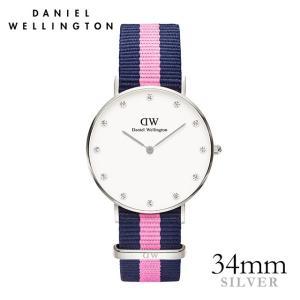 ダニエルウェリントン ウィンチェスター   シルバー 34mm 腕時計|beyondcool