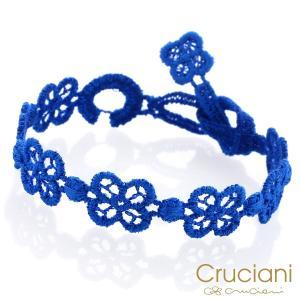 Cruciani クルチアーニ クルチアーニ C  アンクレット/ブレスレット HAPPY ディープブルー|beyondcool