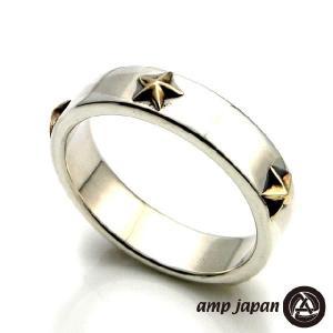 amp japan アンプジャパン ファイブ スター リング ゴールド|beyondcool