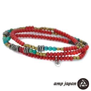 ナオト・インティライミさん着用 アンプジャパン amp japan スカーレット ブレスレット メンズ レディース アクセ|beyondcool