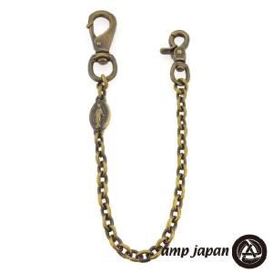 amp japan アンプジャパン amp japan ブラス マリアメダイ ウォレットチェーン|beyondcool