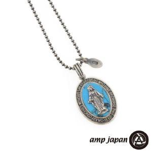 amp japan アンプジャパン amp japan マリアメダイ ペンダント/ターコイズ|beyondcool
