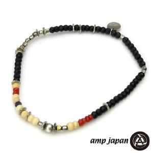 amp japan アンプジャパン マットオニキスアンクレット beyondcool