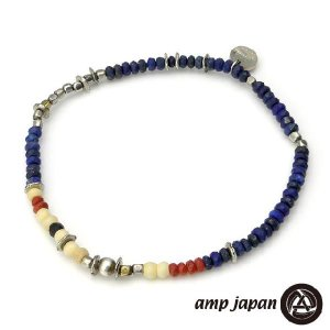 amp japan アンプジャパン マットラピスコーラルアンクレット beyondcool