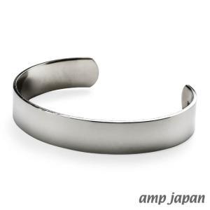 amp japan アンプジャパン ジャーマンシルバープレーンバングル - ナロー|beyondcool