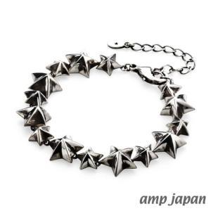 amp japan アンプジャパン スタースタッズブレスレット|beyondcool