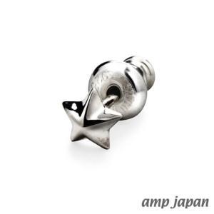 amp japan アンプジャパン スモールスタースタッズピアス|beyondcool