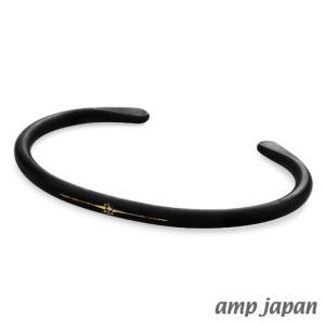 amp japan アンプジャパン ブラックブラスバングル|beyondcool