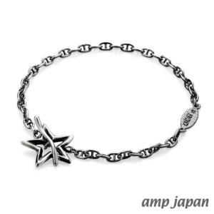 amp japan アンプジャパン オープンスターブレスレット|beyondcool