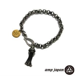 amp japan アンプジャパン タッセル チャーム ブレスレット|beyondcool