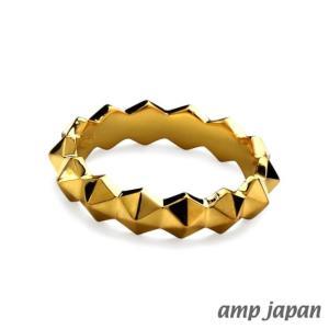 amp japan アンプジャパン ヘキサゴンスパイクリング - ゴールド|beyondcool