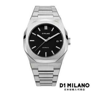 D1ミラノ 時計 メンズ D1 MILANO P701 Automatic Watch Silver Case with Silver Bracelet beyondcool