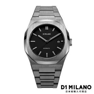 D1ミラノ 時計 メンズ D1 MILANO P701 Automatic Watch IP Gun Case with Gun Bracelet beyondcool