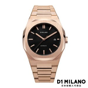 D1ミラノ 時計 メンズ D1 MILANO P701 Automatic Watch Rose Gold Case with Rose Gold Bracelet beyondcool