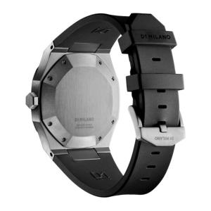 D1ミラノ 時計 メンズ D1 MILANO P701 Automatic Watch IP Gun Case with Black Strap beyondcool 05