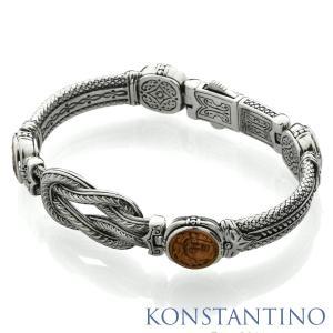 KONSTANTINO コンスタンティーノ S/S&カッパー ブレスレット|beyondcool