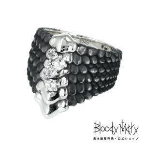 Bloody Mary ブラッディマリー サーカスコレクション ディノリング w/ホワイトトパーズ|beyondcool
