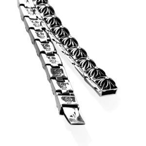 Chrome Hearts クロムハーツ ピラミッドプラスリンクブレスレット 24リンク(幅:1/4インチ) beyondcool 03