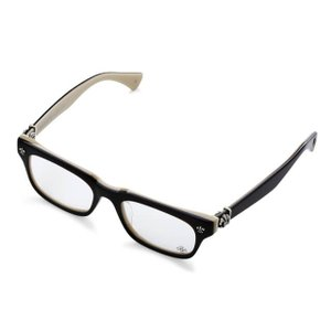 クロムハーツ メガネ アイウェア : OPTICAL GITTIN ANY A Black&Tan CHROME HEARTS|beyondcool