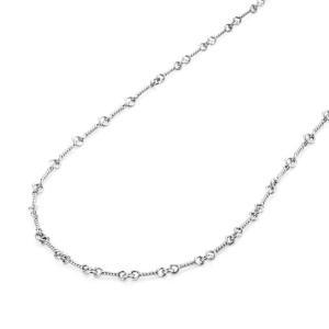 クロムハーツ Chrome Hearts K18wg ツイストチェーンネックレス 16inch(40cm) ネックレス チェーン|beyondcool
