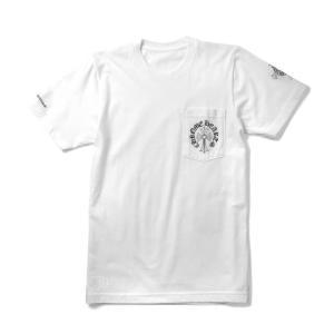 クロムハーツ メンズTシャツ SS クルーネック C17-2D ホワイト CHROME HEARTS beyondcool