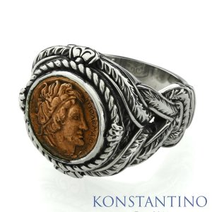 KONSTANTINO コンスタンティーノ S/S&カッパー リング|beyondcool