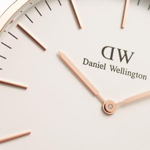 ダニエルウェリントン Daniel Wellington  クラシックロゼリン ローズゴールド/ホワイト 40mm|beyondcool|06
