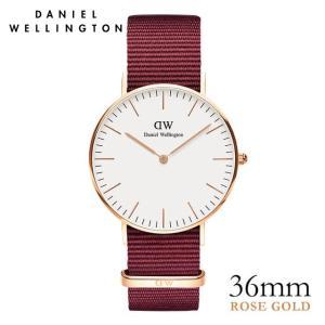 ダニエルウェリントン Daniel Wellington  クラシックロゼリン ローズゴールド/ホワイト 36mm|beyondcool
