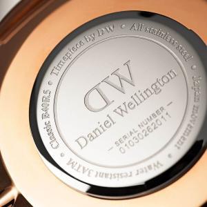 ダニエルウェリントン Daniel Wellington  クラシックベイズウォーター ローズゴールド/ホワイト 40mm|beyondcool|05
