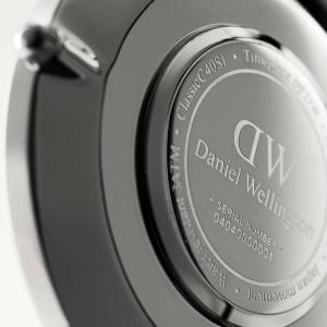 ダニエルウェリントン Daniel Wellington  クラシックベイズウォーター シルバー/ホワイト 40mm|beyondcool|05