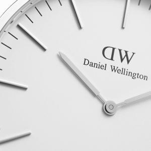 ダニエルウェリントン Daniel Wellington  クラシックベイズウォーター シルバー/ホワイト 40mm|beyondcool|06