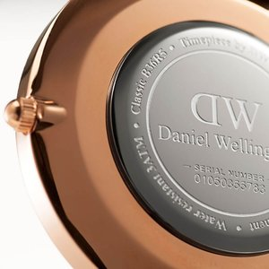 ダニエルウェリントン Daniel Wellington  クラシックベイズウォーター ローズゴールド/ホワイト 36mm beyondcool 05
