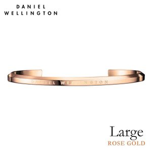 Daniel Wellington ダニエルウェリントン クラシックカフ ローズゴールド/ラージ