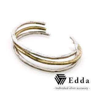 Edda エッダ 3連バングル レディス EB-005-L|beyondcool