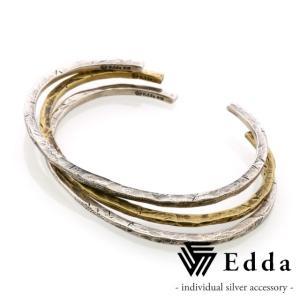 Edda エッダ 3連バングル メンズ EB-005-M|beyondcool