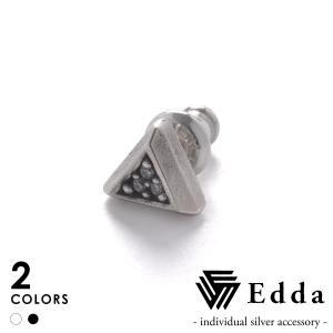Edda エッダ トライアングルピアス EE-005-U-B EE-005-U-W|beyondcool