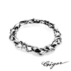 GIGOR ジゴロウ ワープフローブレスレット 19cm|beyondcool