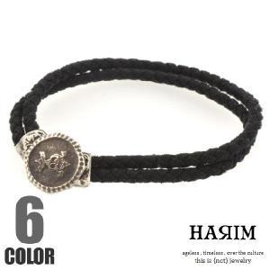 HARIM ハリム ハリム シグネット ボタン ブレスレット|beyondcool